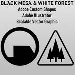 White Forest and Black Mesa