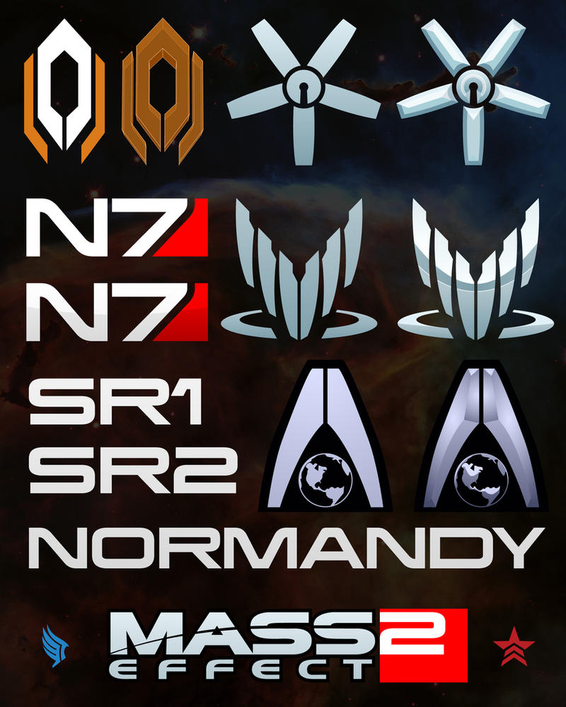 Mass Effect Logos by Zeptozephyr