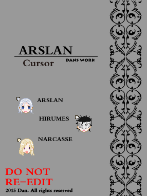 ARSLAN CURSOR by ltxg13