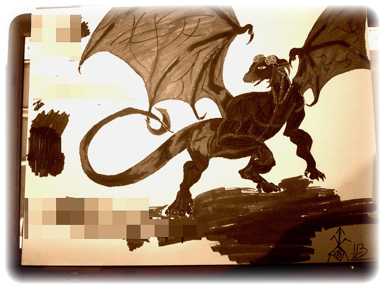 Legend of the Copper Dragon of Rurucia by DarkExorsus
