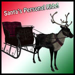 Santa's Personal Ride by Stock-by-Dana