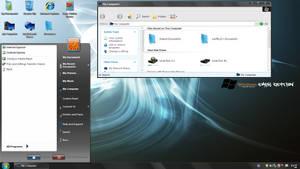Windows XP Dark Edition V7 Rebirth Refix Theme