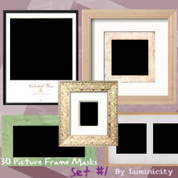 Picture Frame Masks by luminicity