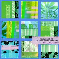 Texture Set 5 by luminicity
