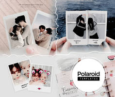TEMPLATE / POLAROID.PSD - 02 by Bubblegomi