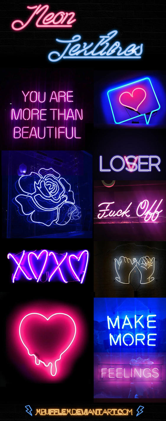 +NEON LIGHT TEXTURES #OO1 by xPufflex