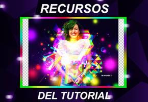  17  +RECURSOS DEL TUTORIAL - Neon Party