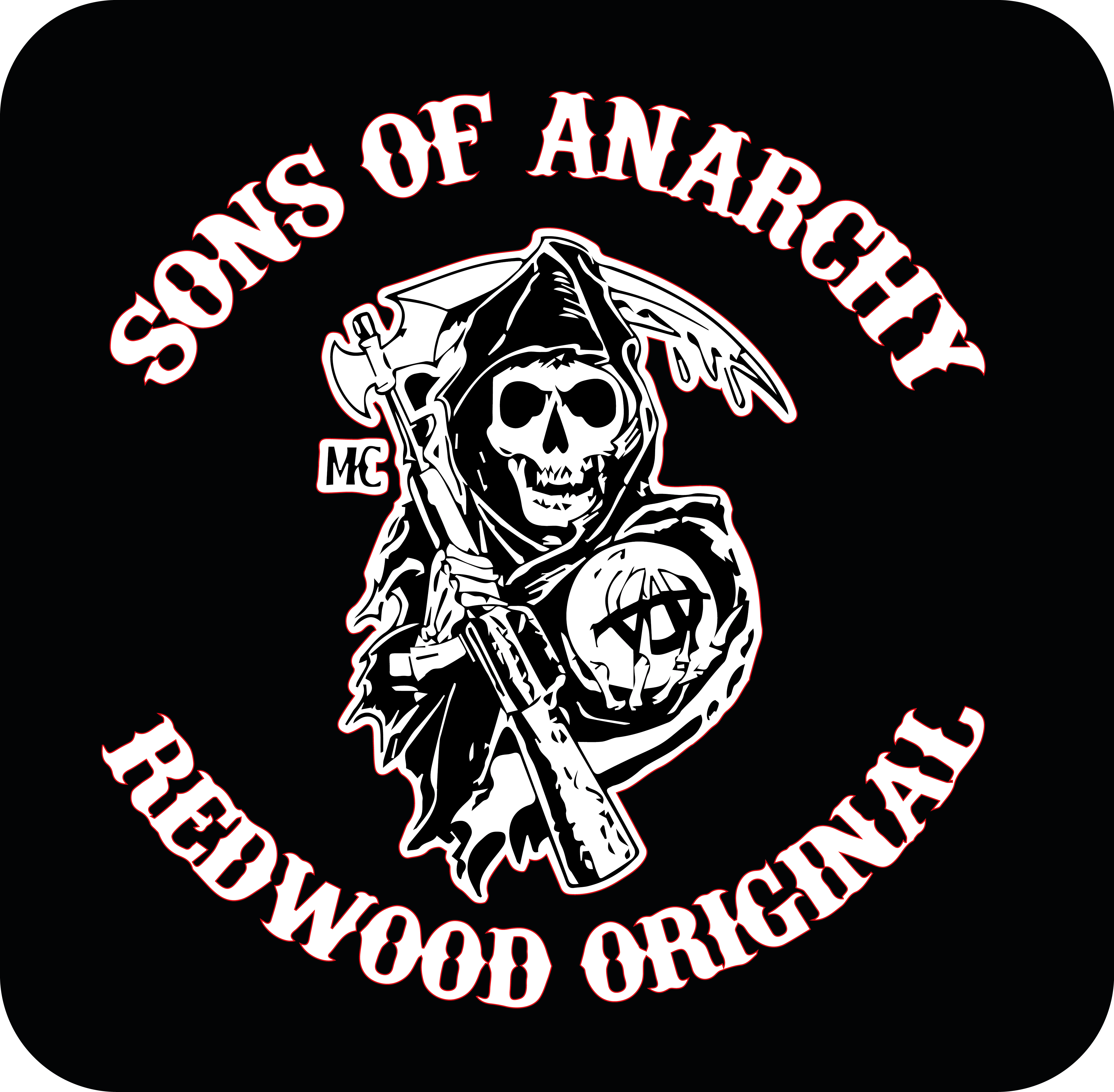Sons of Anarchy Print and cutt by pmattiasp