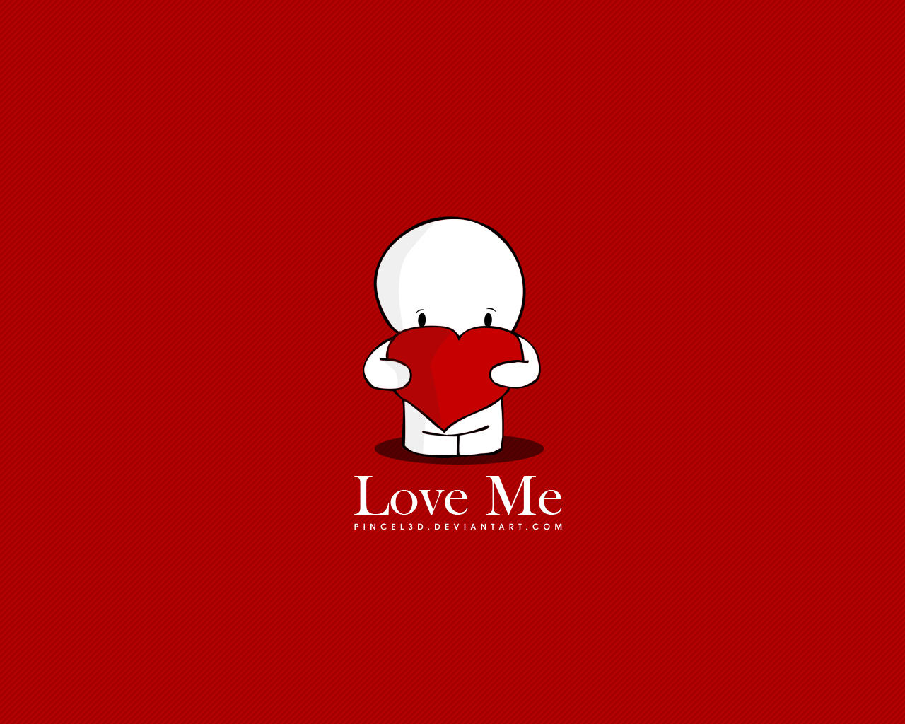 Love Me - Wallpaper by pincel3d