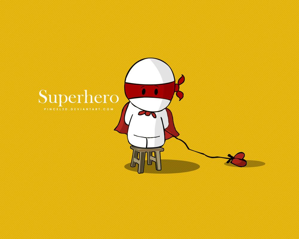 Superhero - Wallpaper by pincel3d on DeviantArt