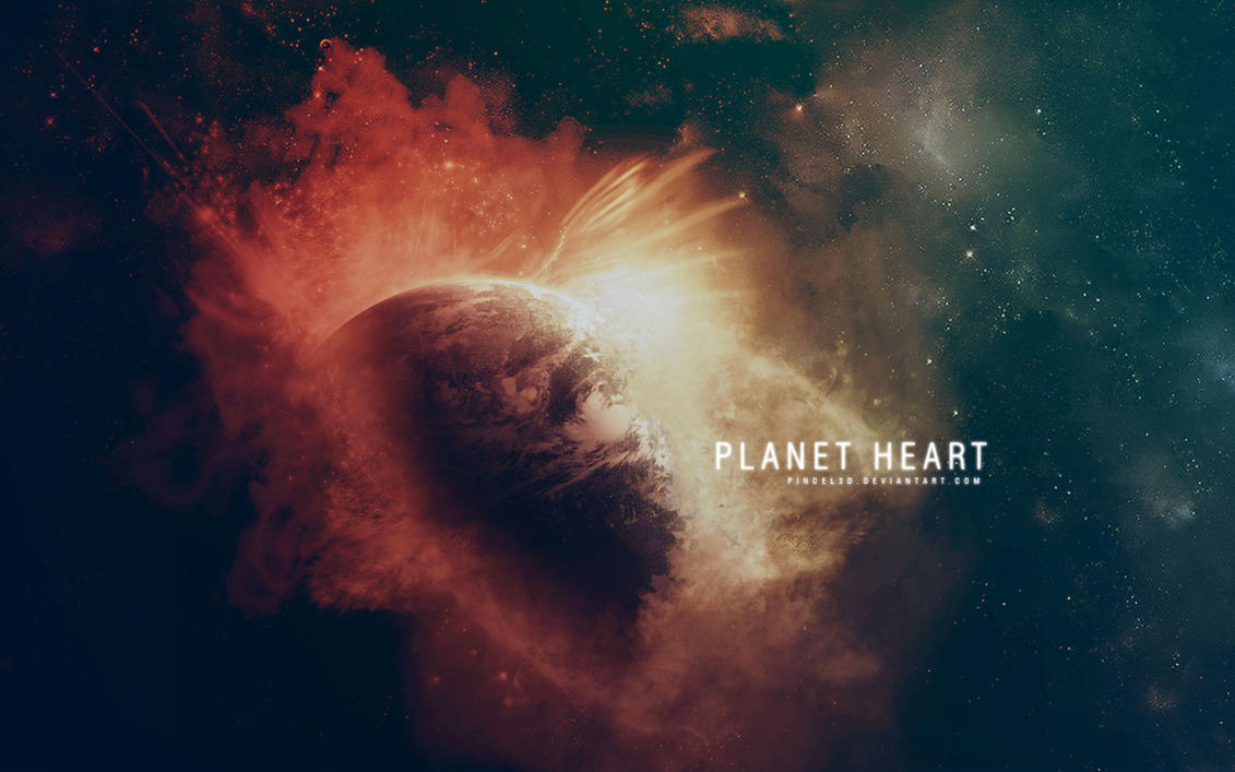Planet Heart - New version by pincel3d