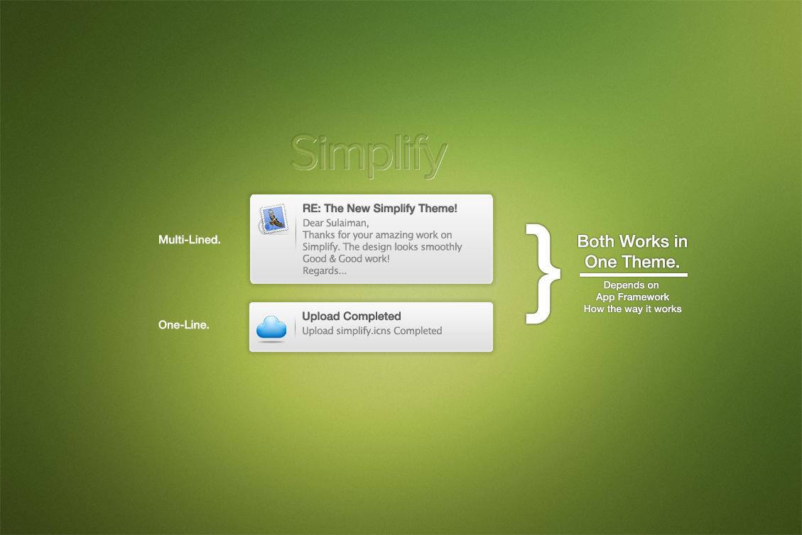 Growl: Simplify by skuthubdeen