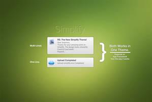 Growl: Simplify