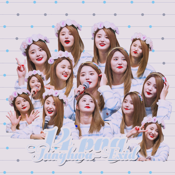 [PACK RENDER] 14 Png Junghwa-Exid by Hayashi-Miria