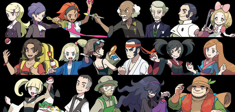 Pokemon And Y Anime Characters Names : Pokemon and y trainer mugshot by nachtbeirmann on deviantart