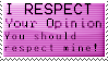 Respect Stamp by Pooky-Stamps