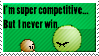 Competitive Loser Stamp by Pooky-Stamps