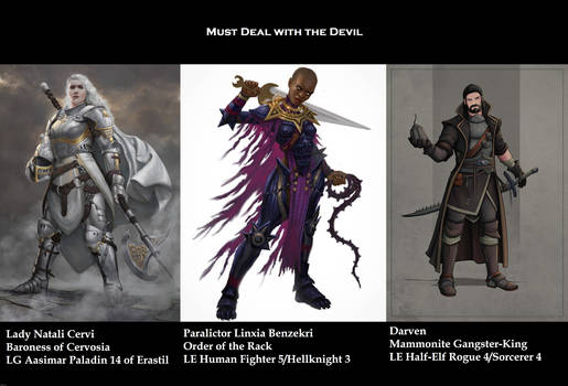 Must Deal with the Devil (Pathfinder 1E module)