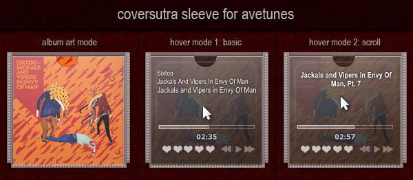 coversutra sleeve for avetunes by alovisco