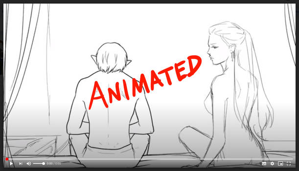 Fenris and Gwern - sketched animation