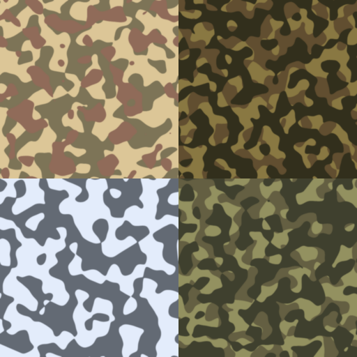 Camouflage pack 1 by jpb06