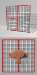 A measuring grid for DAZ Studio 4.7