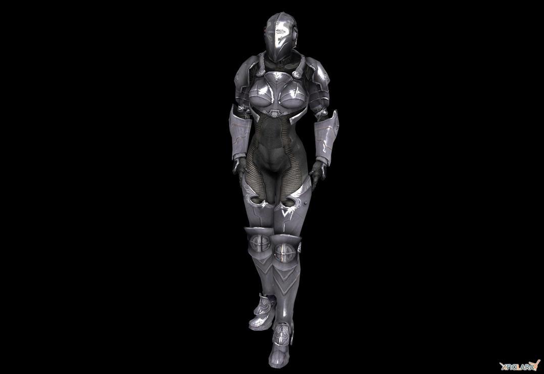 Female Templar Heavy by milance941