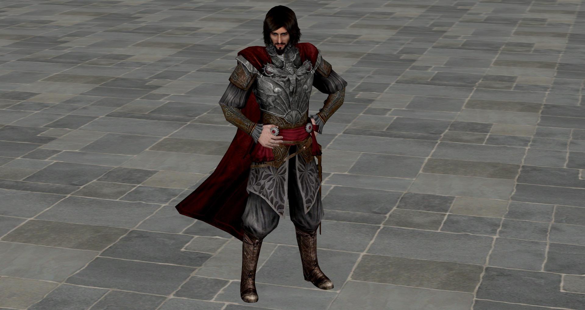 Cesare Borgia model by milance941