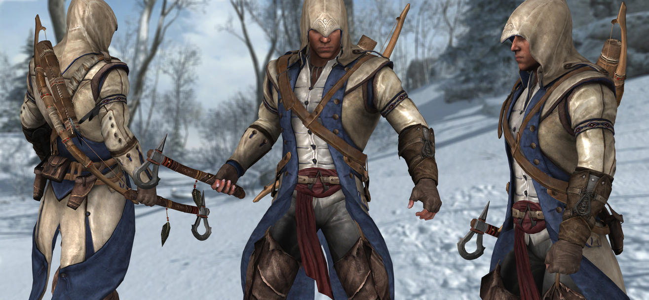 Connor Kenway AC3 UPDATED by milance941