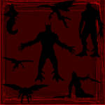 Evil Shadows Brush Set II