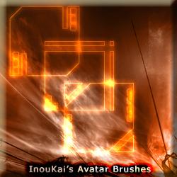 Set of 10 Avatar Brushes by InouKai