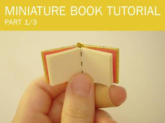 Miniature book tutorial part 1 by trixi-b