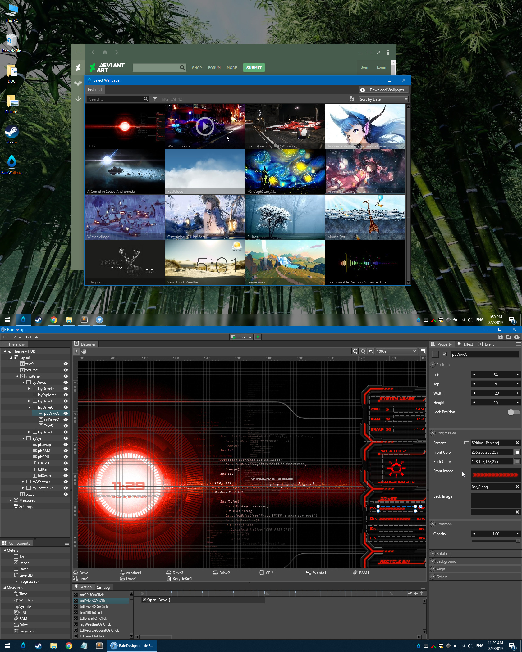 Rainwallpaper Live Wallpaper Engine 2 7 1 By Rainysoft On Deviantart