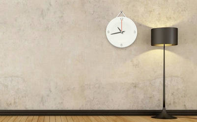 Clock On Wall for RainWidget by RainySoft