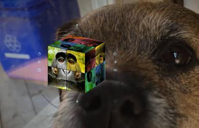 Magic Cube for RainWidget by RainySoft