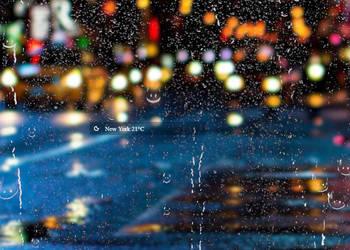 SimpleWeather for RainWidget by RainySoft