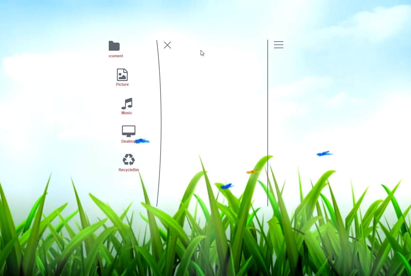 Elasticity Slidebar Launcher