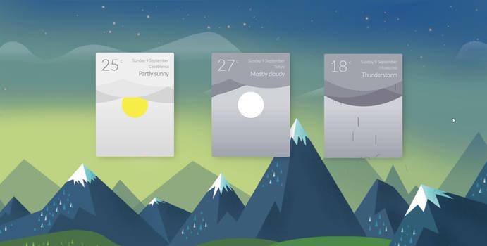 Animation Weather by RainySoft