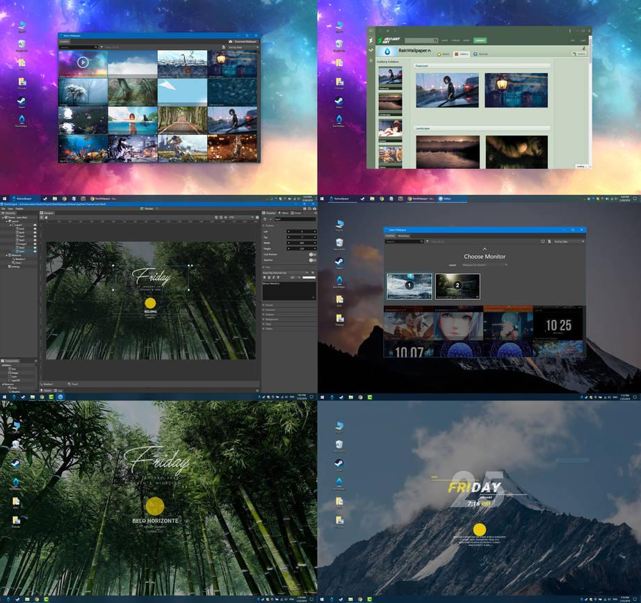 Rainwallpaper 2.2 - Wallpaper Customization Engine by ...