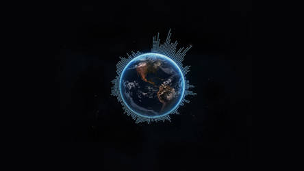 Earth Visualizer Live Theme Wallppaer