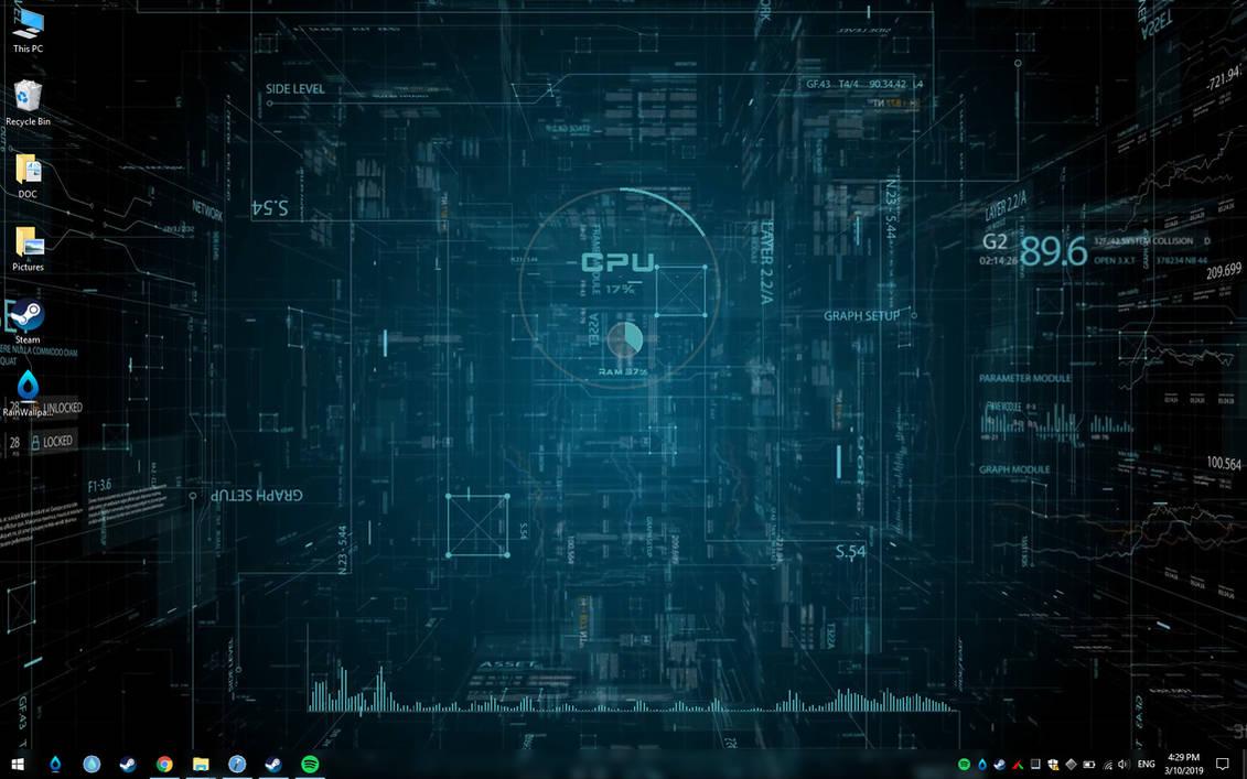 SCI FI Space Live Theme Wallpaper by RainySoft ...