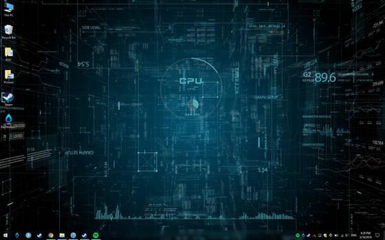 SCI FI Space Live Theme Wallpaper by RainySoft
