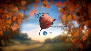 Lonlif-Blurry Falling Leaves by HipHopium