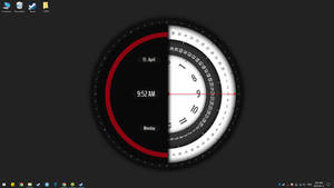 Super Rotation Clock live wallpaper(Animate) by RainySoft