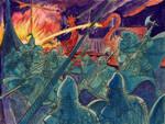 Rus attack Byzantium by SteveLeCouilliard
