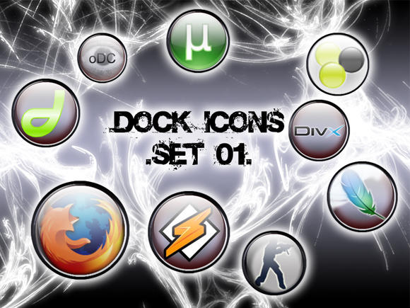 Dock Icons by RageOne