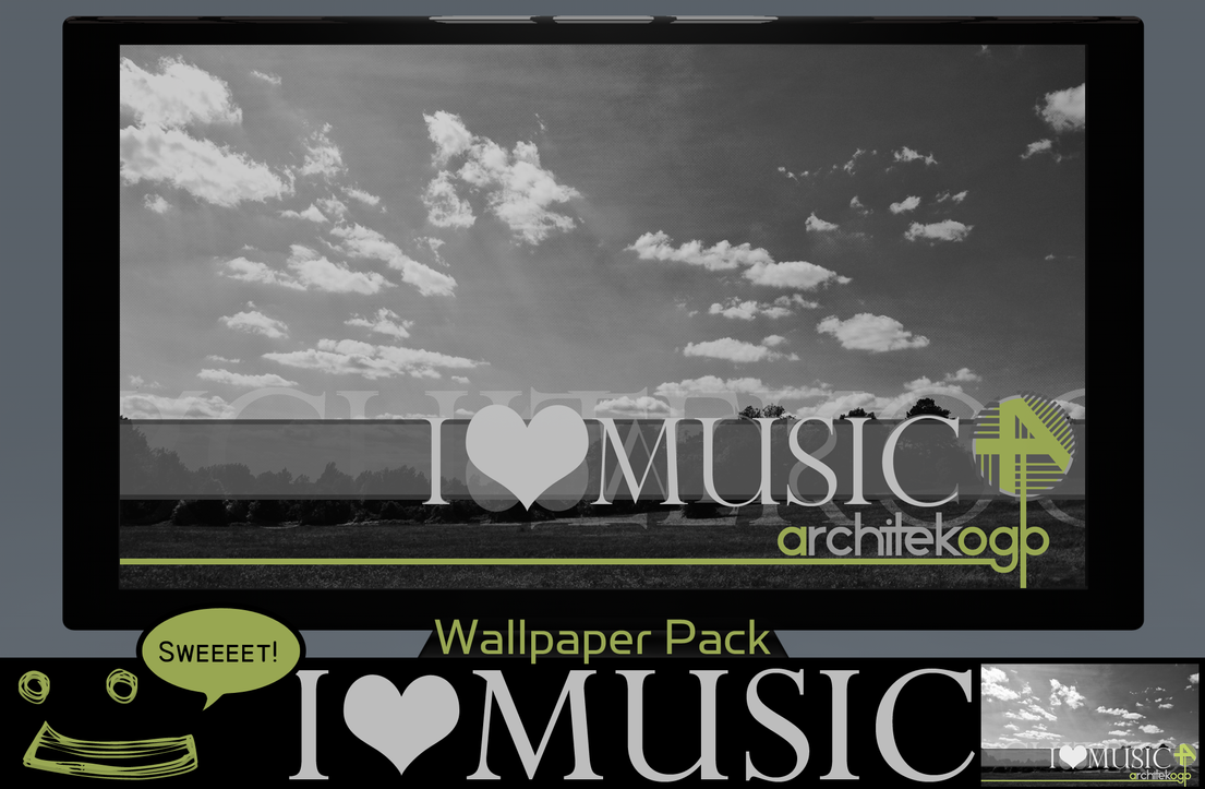 Love Wallpapers Pack : I Love Music Wallpaper Pack by ArchitekOGP on DeviantArt