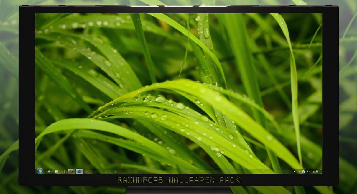 Raindrops Wallpaper Pack by ArchitekOGP