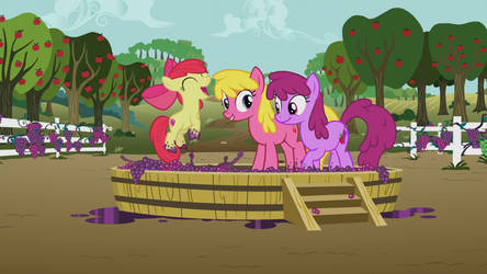 Applebloom Jumping GIF