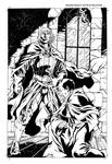 Jacques Demolay Comic Page